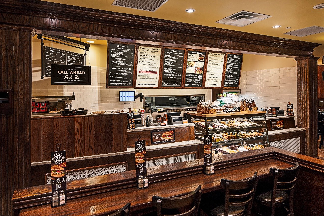 Corner bakery cafe to open first wisconsin location at the for Bakery decoration